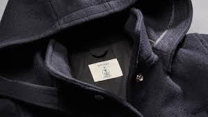 the sperry x fidelity peacoat features genuine u s navy anchor ons