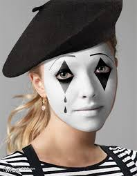 best 25 mime makeup ideas on clown makeup circus mime face painting