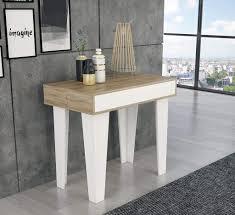 Comfort Home Innovation Nordische Kl Ausziehbarer Konsoletisch