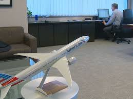 The office of American Airlines CEO Doug Parker unsurprisingly
