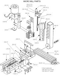 taig tools desktop milling machines and lathes micro mill parts diagram