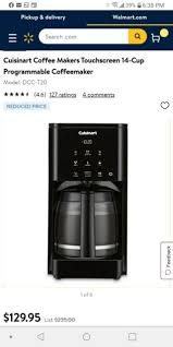 Have a great coffee within very short time by using the great machine. Cuisinart Dcc 1200bw 12 Cup Coffee Maker Black For Sale Online Ebay