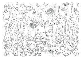 Deep Sea Coloring Pages