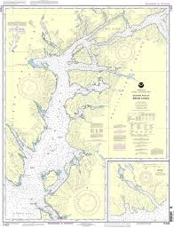 Noaa Nautical Chart 17422 Behm Canal Western Part Yes Bay