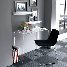 clear office desk. Acrylic Desk Chair Chairs Designer Home Office At Clear Swivel Organizer Party Decoration Singapore E