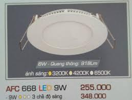 ĐÈN LED ÂM TRẦN ANFACO 9W - AFC668 LED 9W – ANFACO LIGHTING. ĐÈN ANFACO. ĐÈN  LED ANFACO