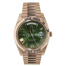 prices for rolex watches buy a rolex watch at a bargain price at rolex day date 40 rose gold president 60th anniversary green dial