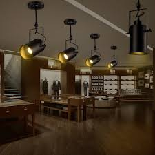 industrial track lighting fixtures. american industrial track lights creative cafe bar station modern clothing personality led surface mounted spotlights pole lighting fixtures