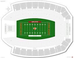 Principal Park Seating Chart Jack Trice Stadium Iowa State Seating Guide