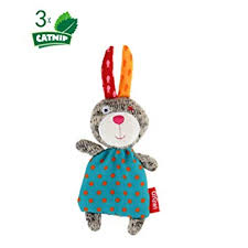 Gigwi Catnip Filled Cat Toys, Cute Design Cat Rabbit ... - Amazon.com