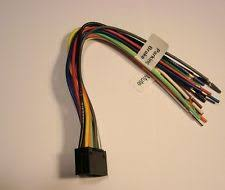 ts car audio video wire harnesses for jensen jvc radio dvd 16 pin wire harness kd avx1 avx2 screen new