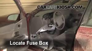 interior fuse box location 1990 1995 mercury sable 1993 mercury 2011 Ford Fusion Fuse Box Location locate interior fuse box and remove cover