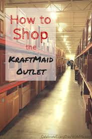 Kraftmaid Vanity Cabinets How To Shop The Kraftmaid Outlet Celebrate Every Day With Me
