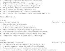 Waitress Job Description For Resume Best Of Employment Certificate