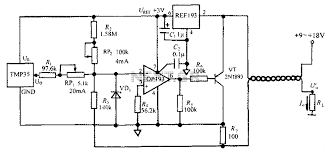 4 20ma signal generator circuit diagram the wiring diagram rf > transmitters > 4 20ma transmitter circuit diagram tmp35 circuit diagram