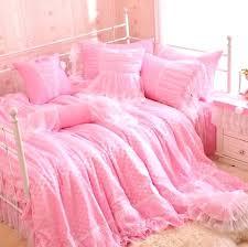 polka dot bedding romantic pink polka dot bedding set king single double home textile pillowcase quilt cover teen girl