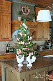 Kitchen Christmas Tree Christmas Tree Basket Our Southern Home