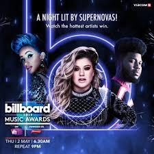 India Billboard Charts Vh1 India To Air 2019 Billboard Music Awards On 2 May