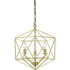 af lighting bellini 3 light gold chandelier