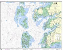 Noaa Chart Updates Amazon Com Noaa Chart 12231 Chesapeake Bay Tangier Sound