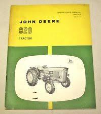 john deere tractor operators manual john deere 820 tractor operators manual