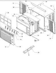 amana window air conditioner parts best air conditioner 2017 whirlpool air conditioner parts image about