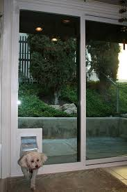 dog doors for sliding glass doors. Dog Door In Sliding Glass Doors For