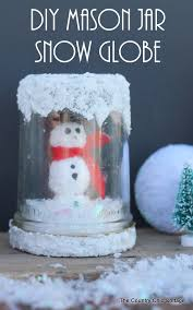 make this fun snow globe for your home this winter including instructions on how to