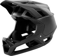 Fox Proframe Full Face Helmet Matt Black