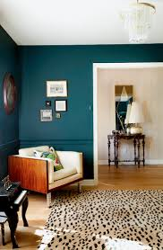 Teal Paint Colors Benjamin Moore Dark Harbor Erin Williamson Design Living Room