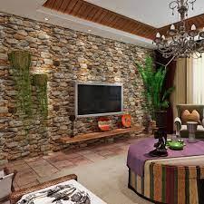 HANMERO Modern 3D Slate Stone Brick ...