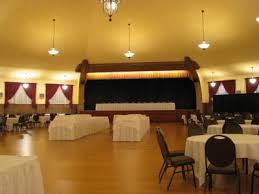 main ballroom and stage