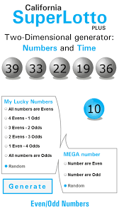 California Super Lotto Plus Results Winning Numbers