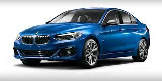 BMW Convertible bmw 120 specs : BMW 1 Series sedan revealed