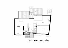plan maison d architecte contemporaine 300m2 lumineuse