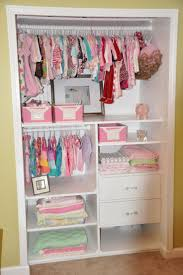 How to Select Baby Nursery Closet Organizer : Nice Baby Room Design With  Small Wall Closet