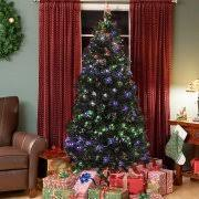 Home Accents Holiday 75 Ft PreLit LED Wesley Spruce Slim 6 Foot Christmas Tree With Lights