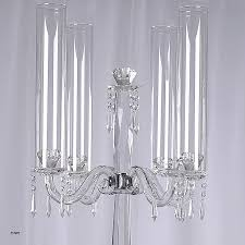 table top chandelier candle holder fresh 35 5 tall handcrafted 4 arm crystal glass tabletop candelabra