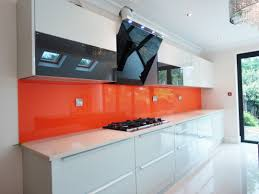Orange Kitchen Finishes Glass Outlet