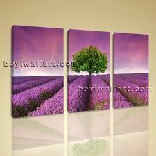 unthinkable lavender wall art canvas print contemporary sunset purple landscape large framed for nursery nz