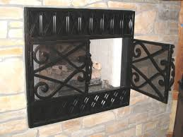 fireplace screens dallas rombos firescreen inset fireplace screens dallas by