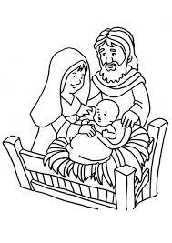 Kleurplaat Geboorte Van Jezus Afb 18661 Images