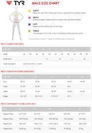Tyr Catalyst 2 Training Paddles Size Chart Tyr Size Chart Bedowntowndaytona Com