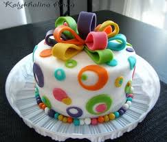 Pin By Menaka Abey On Fondant Flowers Birthday Cake Girls Cake