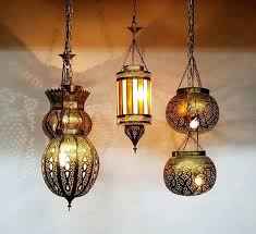 brass lantern hanging nights lights moroccan chandeliers lighting fixtures nanaimo bc themed party als