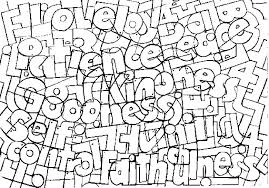 Fruits Of The Spirit Coloring Pages Bible Coloring Pages Fruit Of