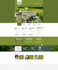 Small Picture Website Template 48179 Garden Pont Design Custom Website Template