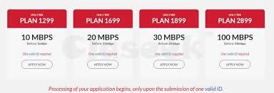pldt home fiber new internet plans no