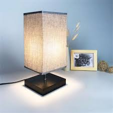 Square Style Led Table Light Desk Lamp Decorative Bedroom Living Room Study Light For Home Hotel 0 5w