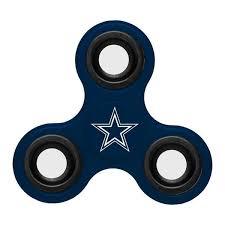 Team Stock Fidget in Way Three Diztracto Nfl Cowboys Dallas Spinner